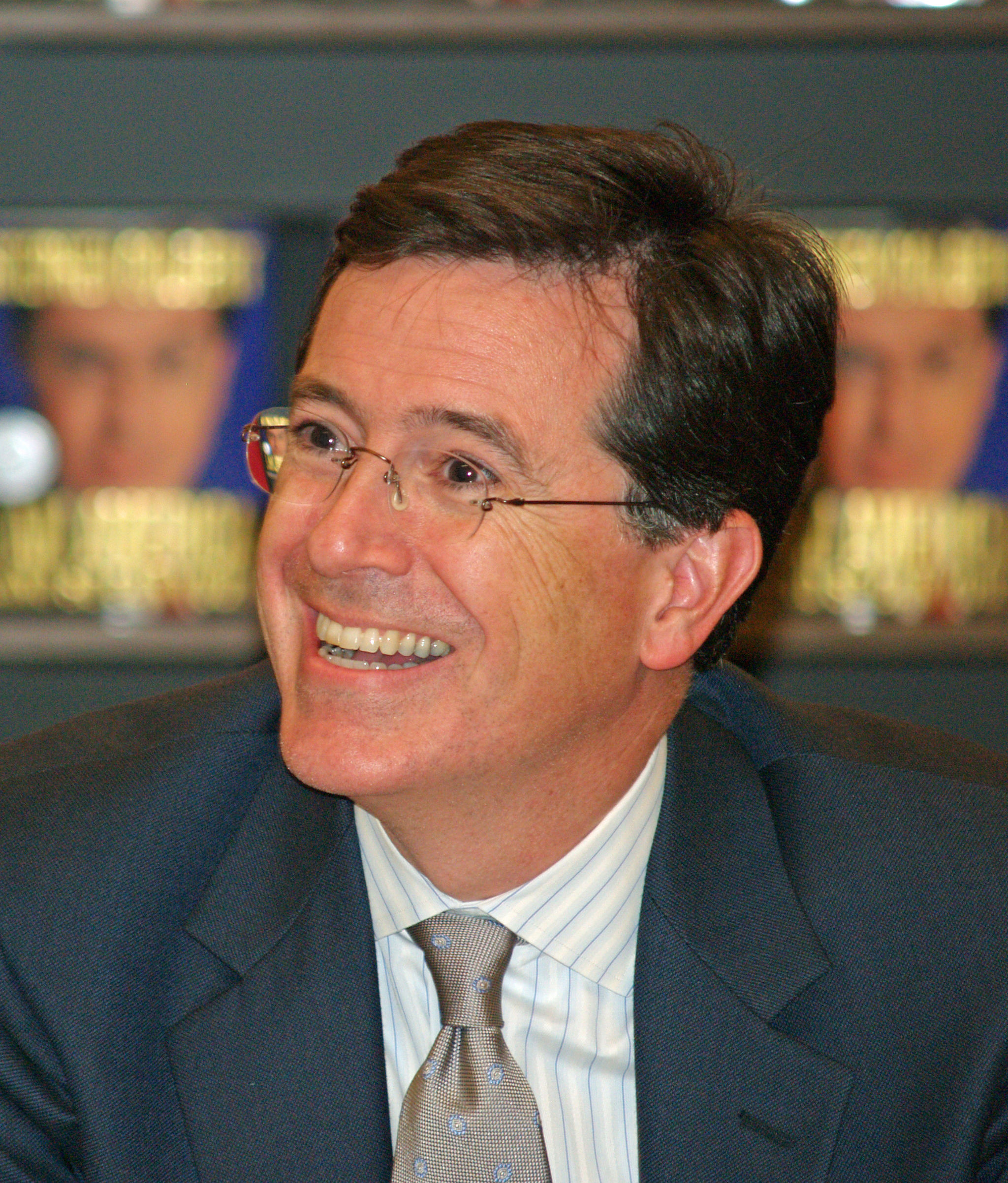 Stephen Colbert (David Shankbone, CC BY-SA 3.0)