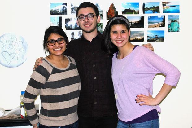 Krupa Desai, Henry Osman, and Emily Santos